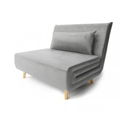 Fotelis SP VELVET su miegama funkcija 2