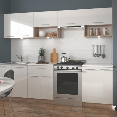 Virtuvės komplektas VIOLA 260 balta